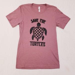 Save the Turtles VSCO tshirt
